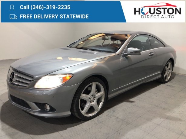 Used 2010 Mercedes-Benz CL-Class for sale in Houston TX.  We Finance!