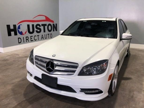 Used 2011 Mercedes-Benz C-Class for sale in Houston TX.  We Finance!
