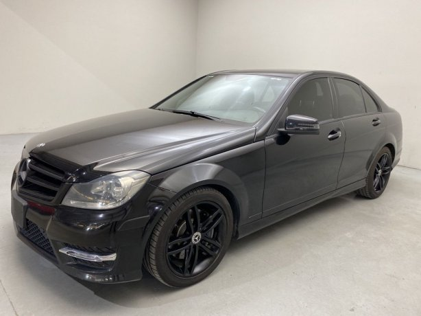 Used 2014 Mercedes-Benz C-Class for sale in Houston TX.  We Finance!