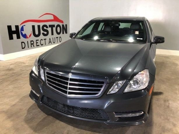 Used 2013 Mercedes-Benz E-Class for sale in Houston TX.  We Finance!