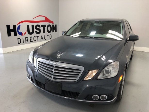 Used 2010 Mercedes-Benz E-Class for sale in Houston TX.  We Finance!