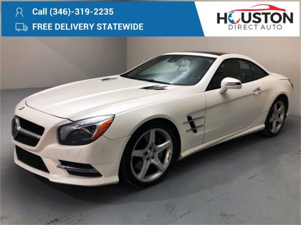 Used 2013 Mercedes-Benz SL-Class for sale in Houston TX.  We Finance!