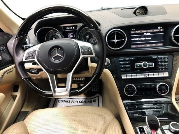 used 2013 Mercedes-Benz SL-Class for sale Houston TX