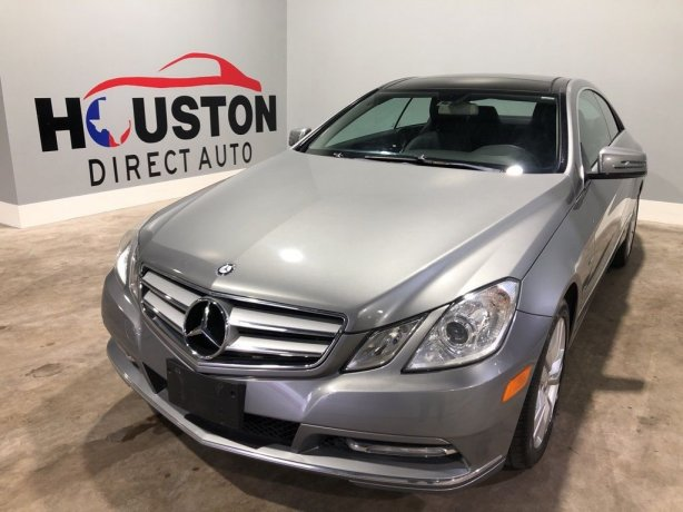 Used 2012 Mercedes-Benz E-Class for sale in Houston TX.  We Finance!