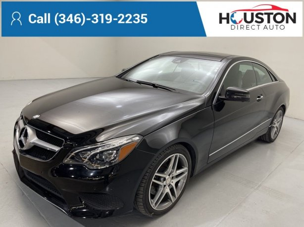 Used 2015 Mercedes-Benz E-Class for sale in Houston TX.  We Finance!