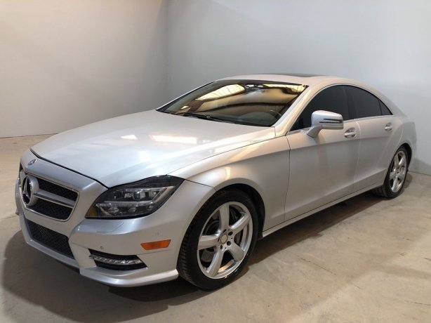Used Mercedes-Benz CLS for sale in Houston TX.  We Finance!