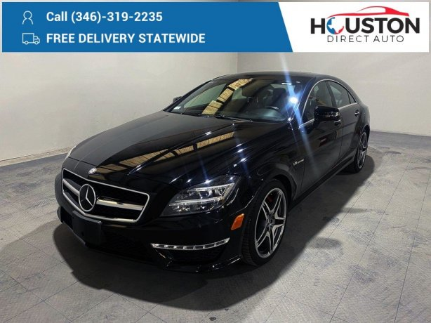 Used 2012 Mercedes-Benz CLS for sale in Houston TX.  We Finance!