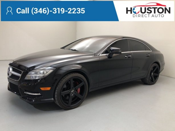 Used 2014 Mercedes-Benz CLS for sale in Houston TX.  We Finance!