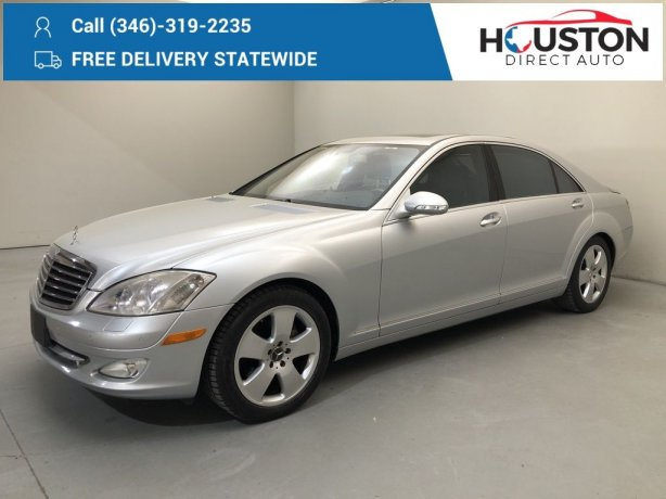 Used 2008 Mercedes-Benz S-Class for sale in Houston TX.  We Finance!