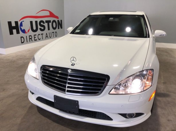 Used 2009 Mercedes-Benz S-Class for sale in Houston TX.  We Finance!