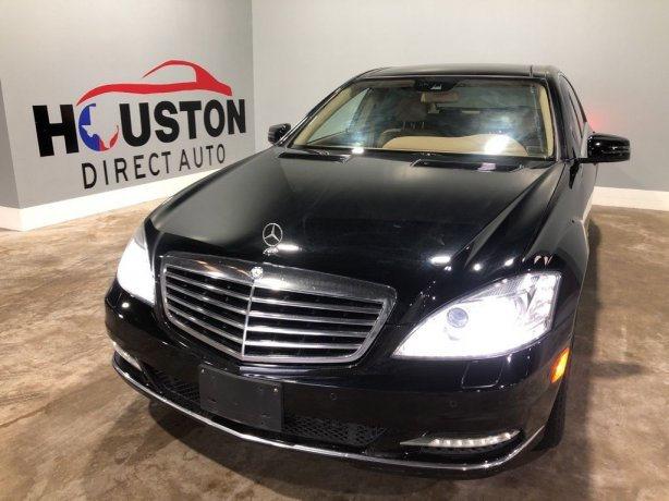 Used 2012 Mercedes-Benz S-Class for sale in Houston TX.  We Finance!