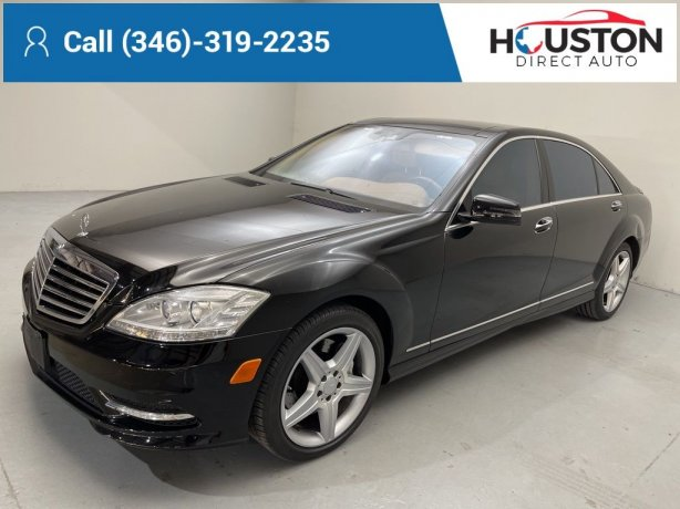 Used 2010 Mercedes-Benz S-Class for sale in Houston TX.  We Finance!
