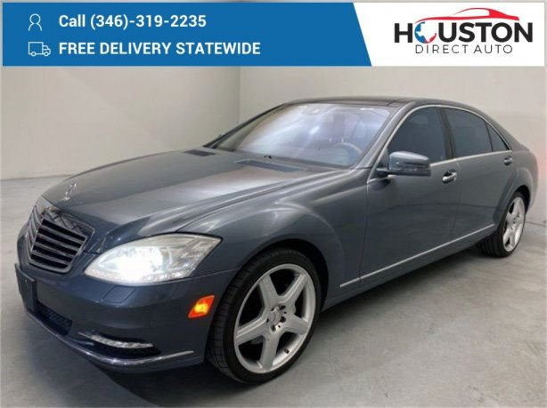 Used 2011 Mercedes-Benz S-Class for sale in Houston TX.  We Finance!