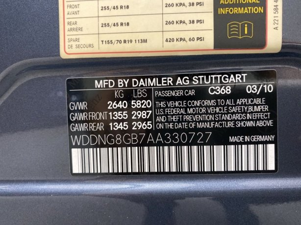 Mercedes-Benz S-Class 2010 for sale