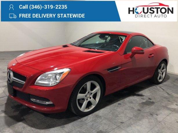 Used 2012 Mercedes-Benz SLK for sale in Houston TX.  We Finance!