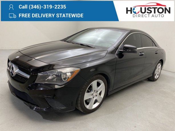 Used 2016 Mercedes-Benz CLA for sale in Houston TX.  We Finance!