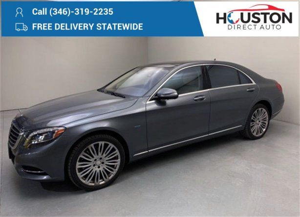 Used 2017 Mercedes-Benz S-Class for sale in Houston TX.  We Finance!