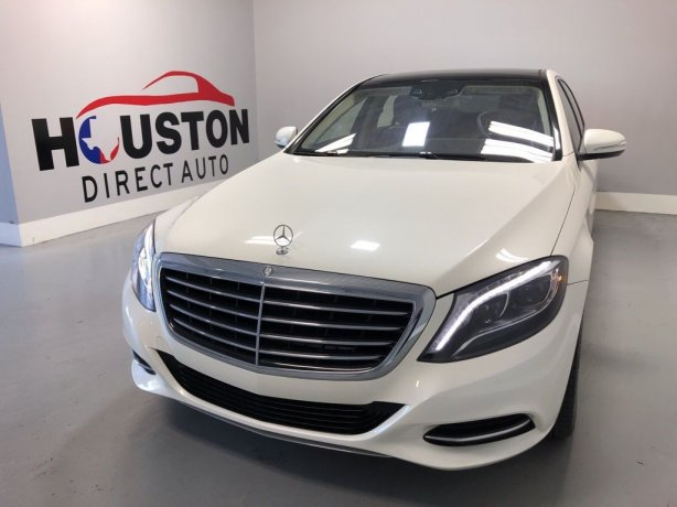Used 2015 Mercedes-Benz S-Class for sale in Houston TX.  We Finance!