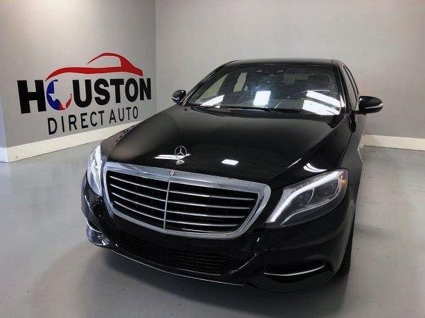 Used 2014 Mercedes-Benz S-Class for sale in Houston TX.  We Finance!