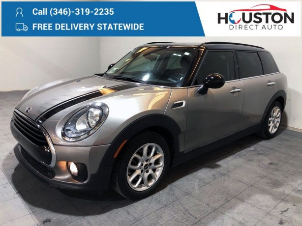 Used 2016 MINI Cooper for sale in Houston TX.  We Finance!
