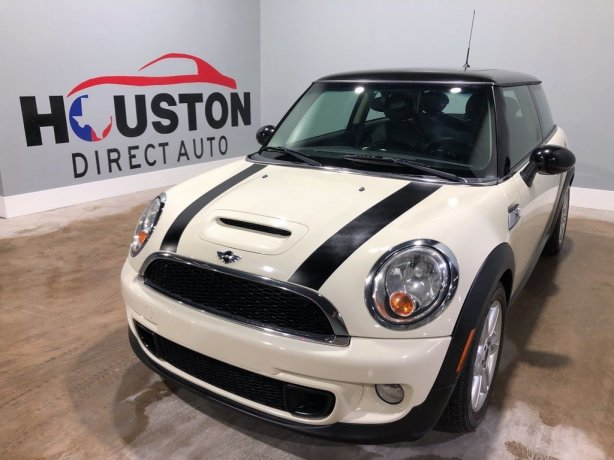 Used 2012 MINI Cooper S for sale in Houston TX.  We Finance!