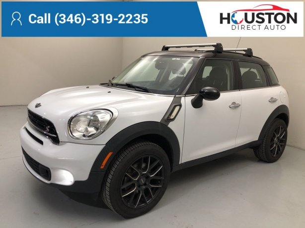 Used 2016 MINI Cooper S Countryman for sale in Houston TX.  We Finance!