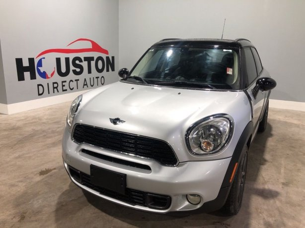 Used 2012 MINI Cooper S Countryman for sale in Houston TX.  We Finance!