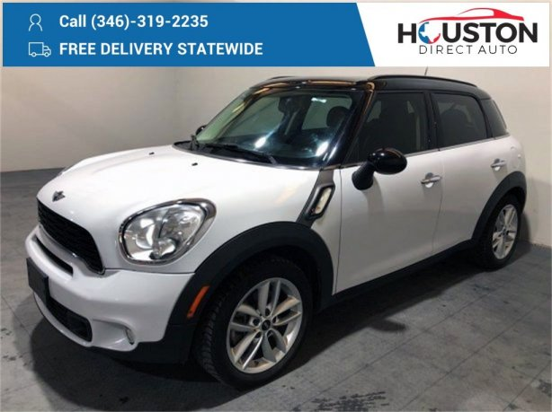 Used 2013 MINI Cooper S Countryman for sale in Houston TX.  We Finance!