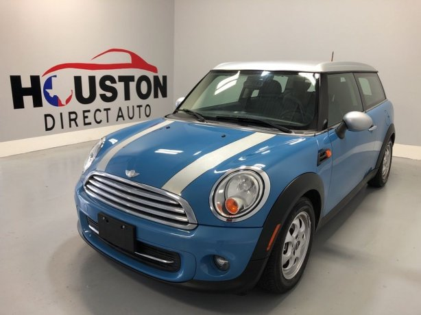 Used 2014 MINI Cooper for sale in Houston TX.  We Finance!
