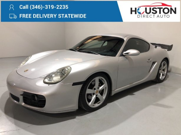 Used 2007 Porsche Cayman for sale in Houston TX.  We Finance!
