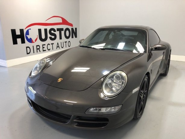Used 2007 Porsche 911 for sale in Houston TX.  We Finance!