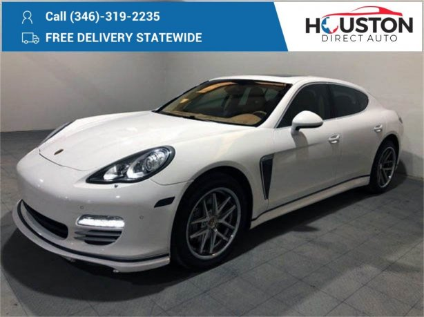 Used 2010 Porsche Panamera for sale in Houston TX.  We Finance!