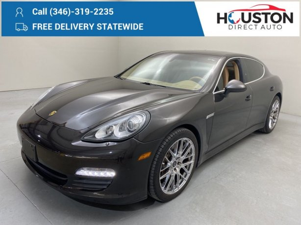 Used 2011 Porsche Panamera for sale in Houston TX.  We Finance!