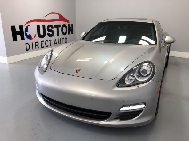 Used 2012 Porsche Panamera for sale in Houston TX.  We Finance!