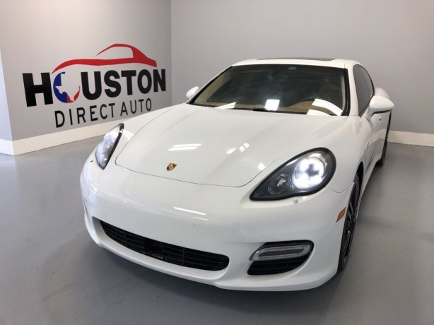 Used 2013 Porsche Panamera for sale in Houston TX.  We Finance!