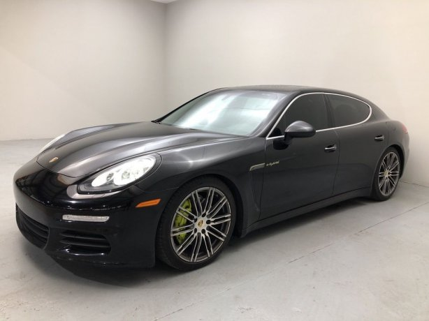 Used 2015 Porsche Panamera E-Hybrid for sale in Houston TX.  We Finance!
