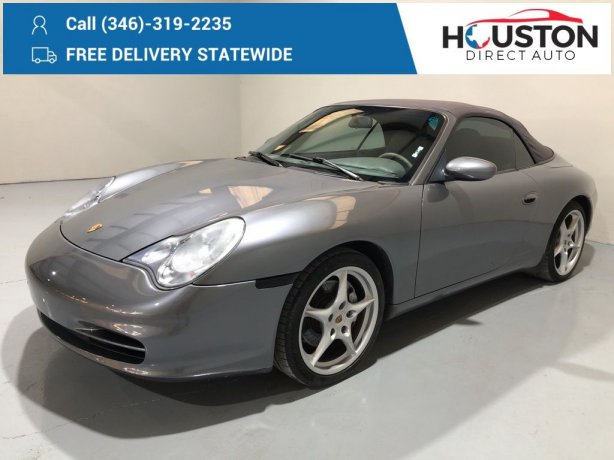 Used 2002 Porsche 911 for sale in Houston TX.  We Finance!