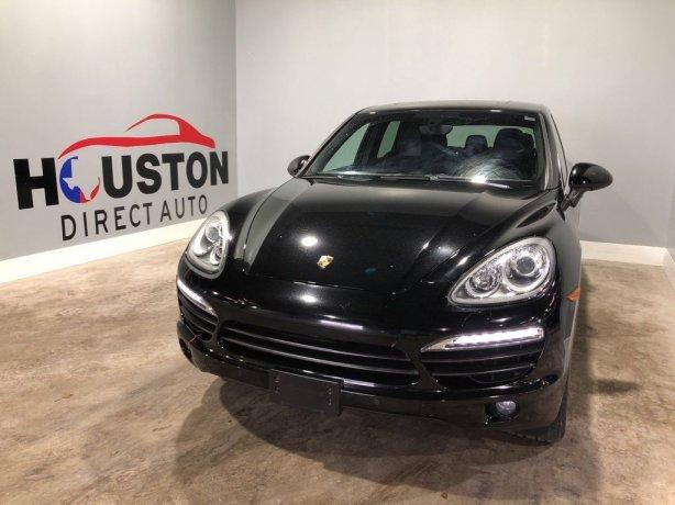 Used 2014 Porsche Cayenne for sale in Houston TX.  We Finance!