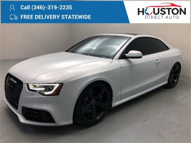 Used 2015 Audi RS 5 for sale in Houston TX.  We Finance!