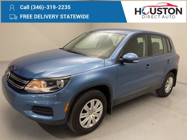 Used 2018 Volkswagen Tiguan Limited for sale in Houston TX.  We Finance!