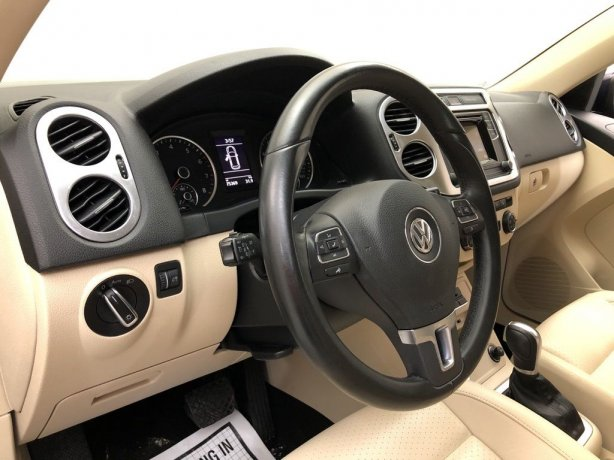 2016 Volkswagen Tiguan for sale Houston TX