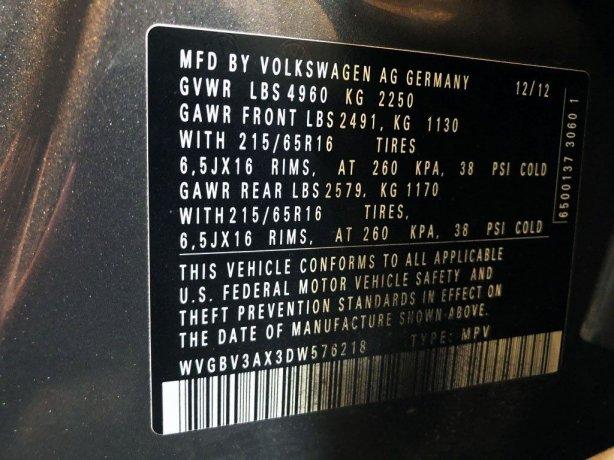 Volkswagen 2013 for sale near me