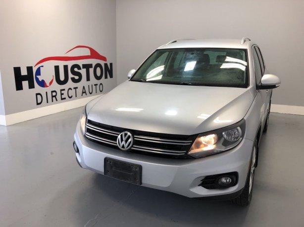 Used 2013 Volkswagen Tiguan for sale in Houston TX.  We Finance!