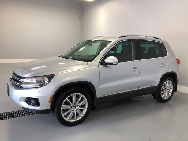 Used Volkswagen Tiguan for sale in Houston TX.  We Finance!