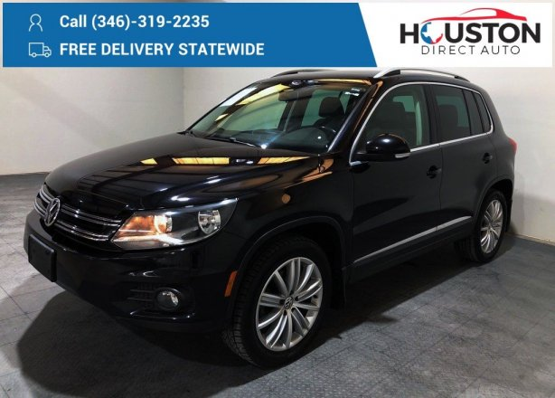 Used 2015 Volkswagen Tiguan for sale in Houston TX.  We Finance!