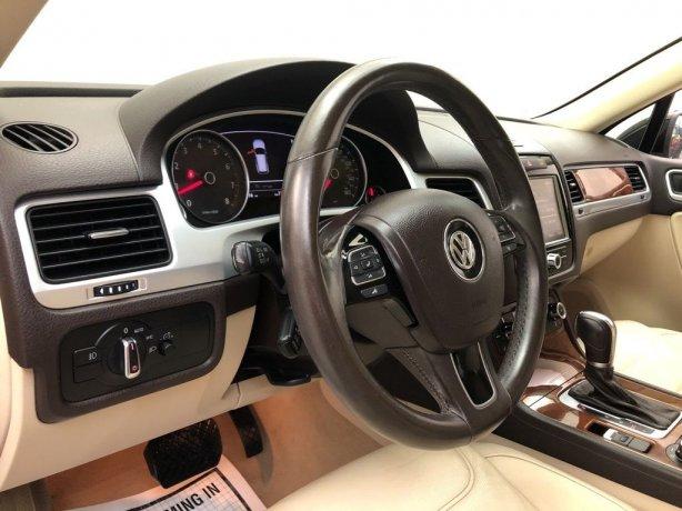 2013 Volkswagen Touareg for sale Houston TX