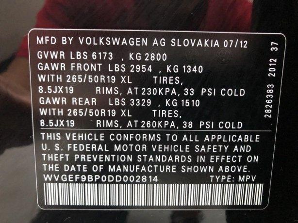 Volkswagen Touareg cheap for sale near me