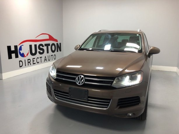 Used 2013 Volkswagen Touareg for sale in Houston TX.  We Finance!
