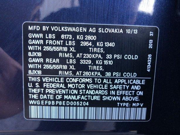 Volkswagen Touareg 2014 near me
