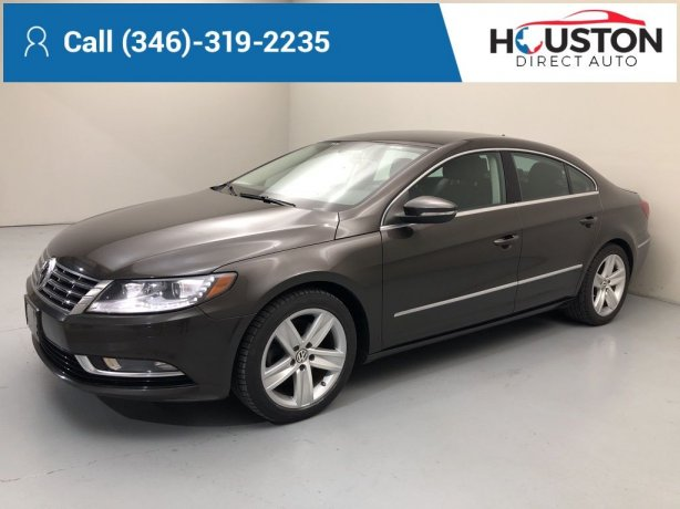 Used 2013 Volkswagen CC for sale in Houston TX.  We Finance!